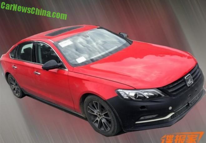Spy Shots: Zotye Z600 sedan testing in China