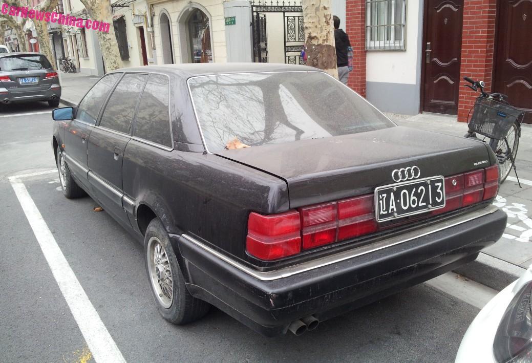 Spotted In China Type C Audi V LWB CarNewsChinacom - Audi v8