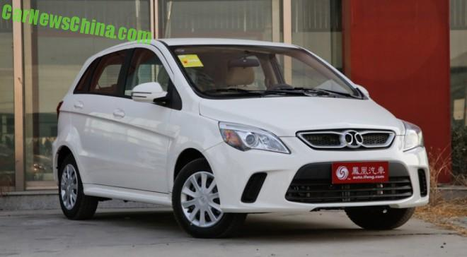 Beijing Auto Senova D20 launched on the Chinese car market