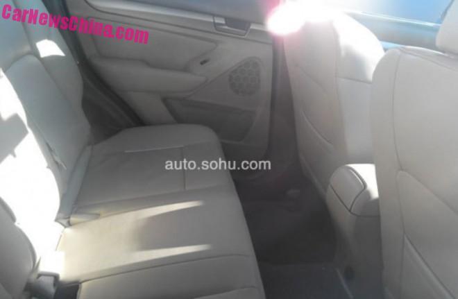 Senova X65 - Chinese SUV based on platform of the Saab 9-3