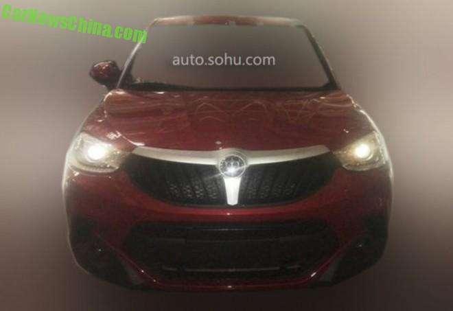 Spy Shots: Brilliance V3 SUV is Naked in Red in China