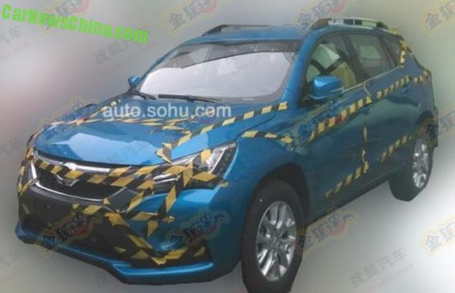 Spy Shots: new BYD S3 SUV testing in China