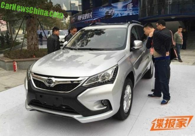This is the new BYD S3 SUV for China