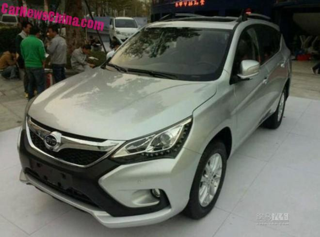 More photos of the new BYD S3 SUV for China