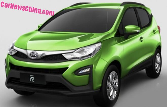 BYD to launch four new SUV's in China