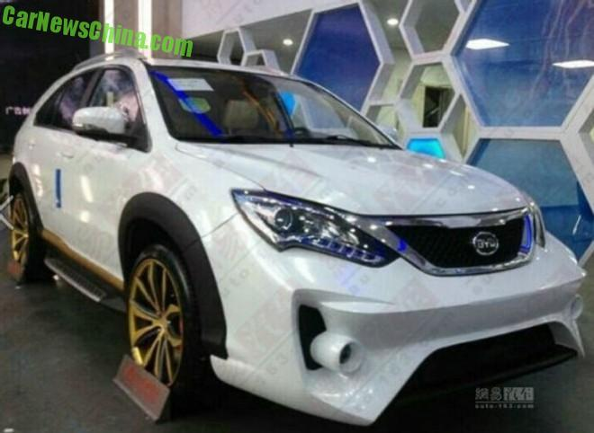 Spy Shots: BYD goes Completely Mad with the new Tang Ultimate Edition SUV