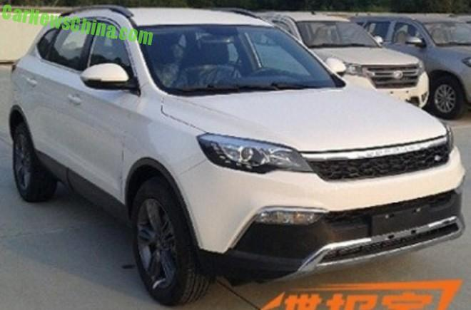 Spy Shots: Changfeng Liebao Q5 is Getting Ready for the Chinese auto market