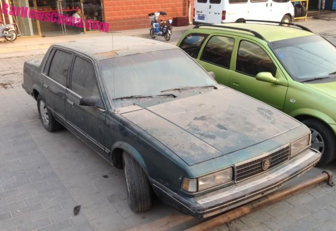 Spotted in China: Chevrolet Celebrity MPFI V6 sedan