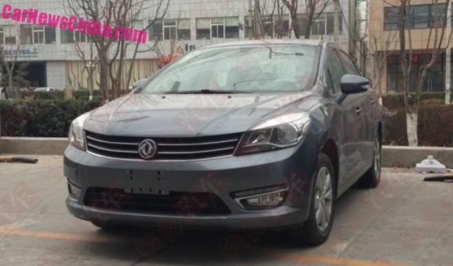 Spy Shots: Dongfeng Fengshen L60 is Ready for the Chinese car market