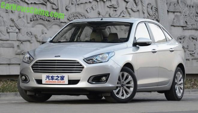 Ford Escort launched on the Chinese auto market