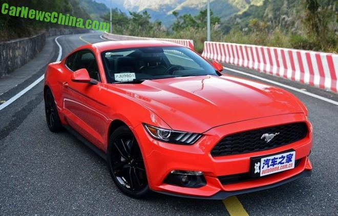Ford Mustang launched on the Chinese car market