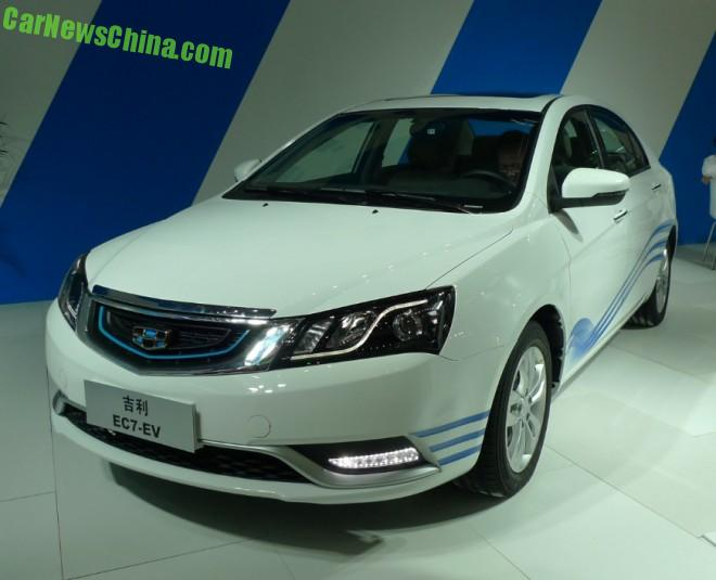 Geely EC7-EV will hit the Chinese car market in Q1