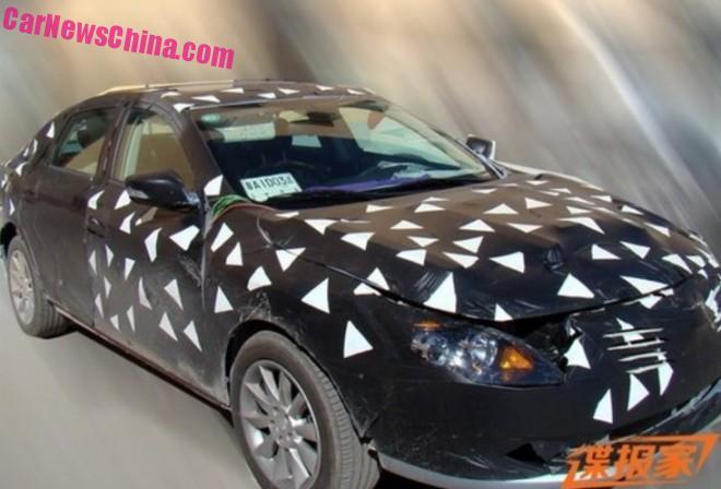 Spy Shots: Guangzhou Auto Trumpchi GA4 sedan testing in China