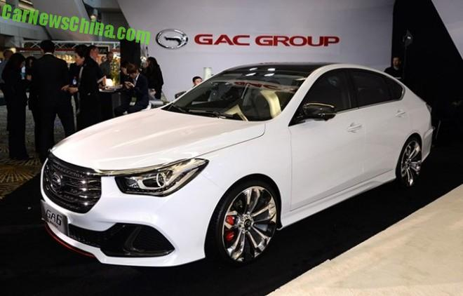 Guangzhou Auto Trumpchi GA6 Limited debuts on the Detroit Auto Show