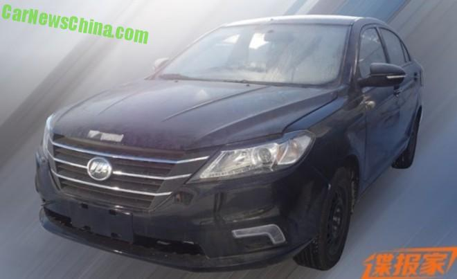 Spy Shots: new Lifan 620 testing in China