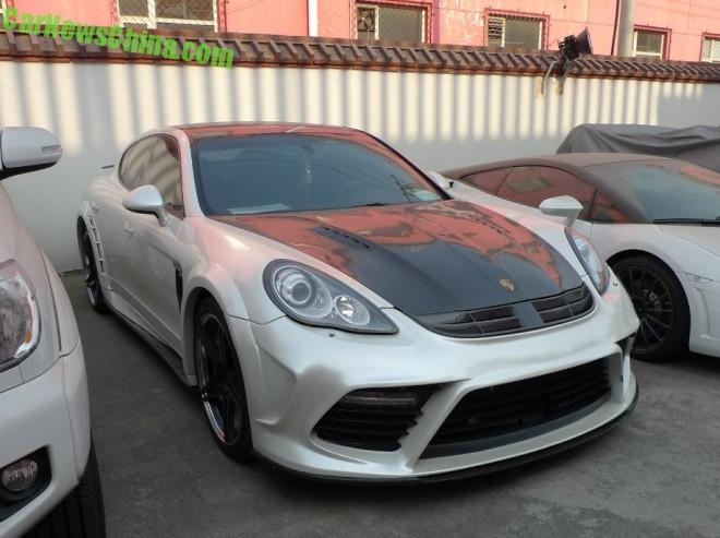 Spotted in China: Mansory Porsche Panamera Turbo in White