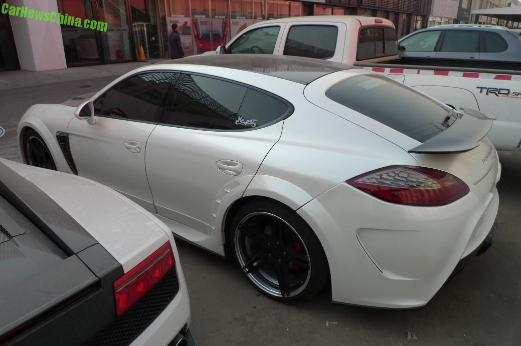 Spotted In China Mansory Porsche Panamera Turbo In White Carnewschina Com