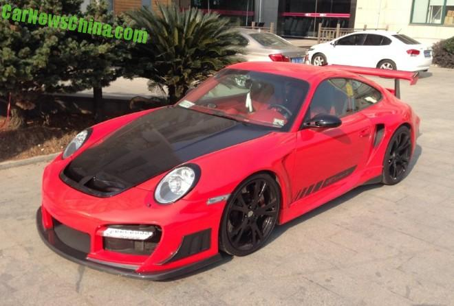 Spotted in China: TechArt Porche 911 Turbo GT Street R