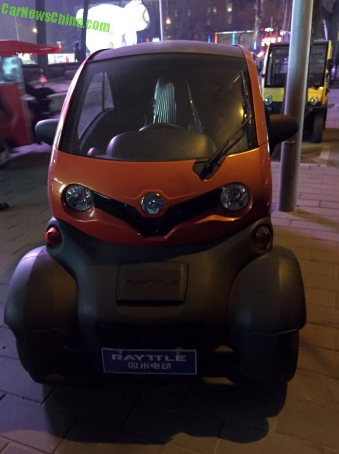 Spotted in China: Rayttle E28 EV is not a Renault Twizy