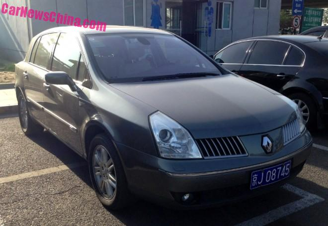 Spotted in China: Renault Vel Satis