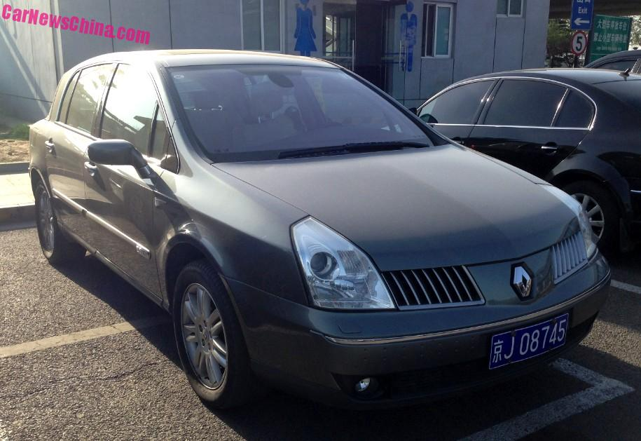 Spotted In China Renault Vel Satis Carnewschina