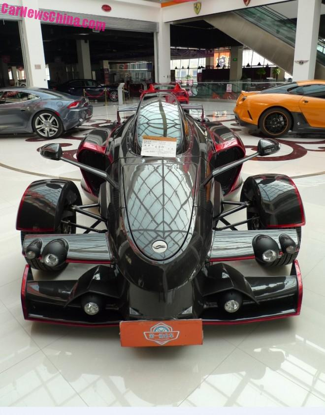 Tramontana R Special Edition is a Spanish Supercar in China