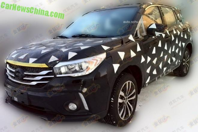 Spy Shots: Guangzhou Auto Trumpchi GS4 is Almost Ready for Detroit