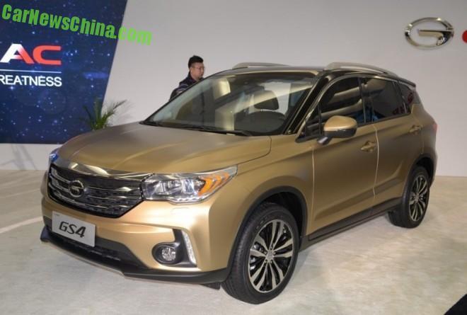 Guangzhou Auto Trumpchi GS4 SUV debuts on the Detroit Auto Show