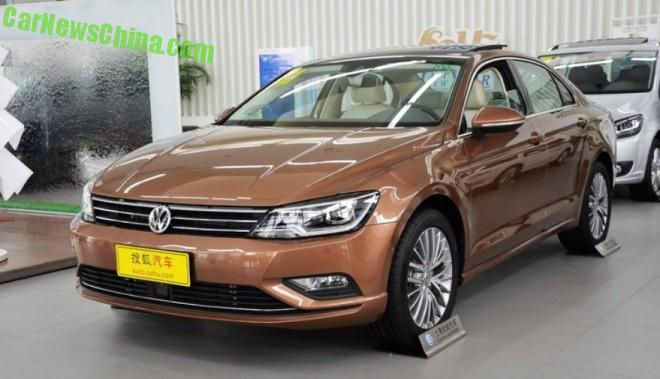 Volkswagen Lamando launched on the Chinese auto market