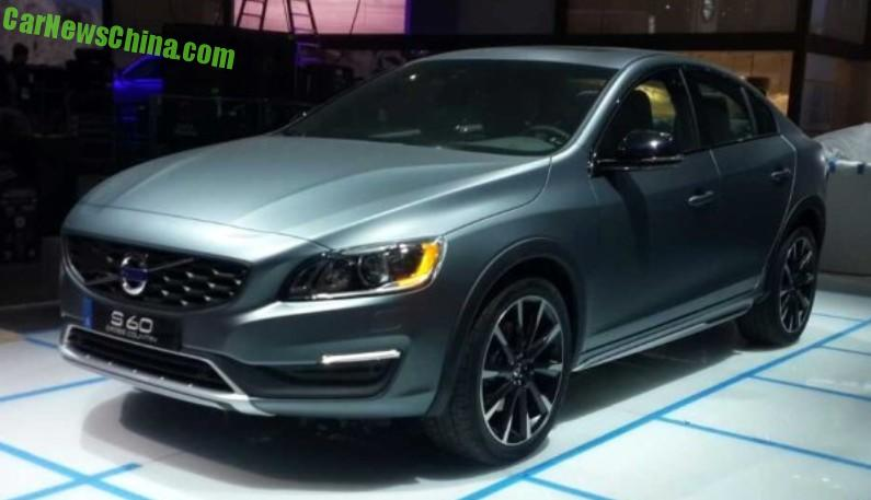 Sneak Preview The New Volvo S60 Cross Country Sedan Live At Detroit Auto Show