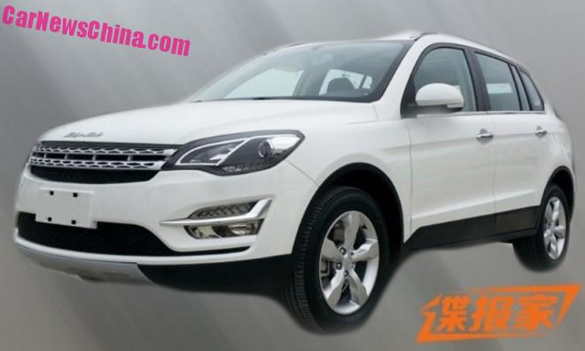 Spy Shots: the new Zotye T500 SUV from China is not a Volkswagen Tiguan