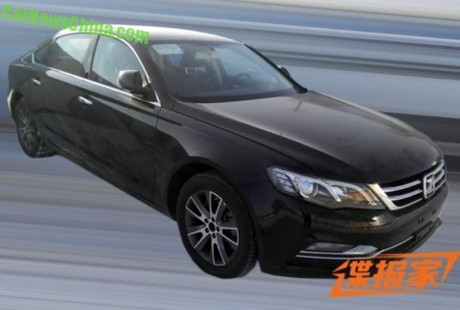 Spy Shots: the new Zotye Z600 sedan for China