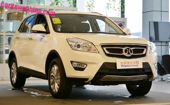 Beijing Auto Senova X65 SUV is Ready for the Chinese car market