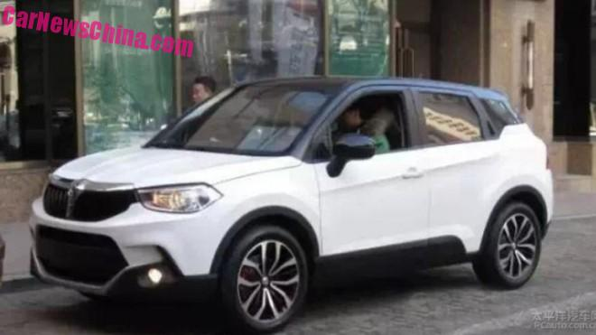 Spy Shots: Brilliance V3 SUV is Almost Ready for the Chinese car market