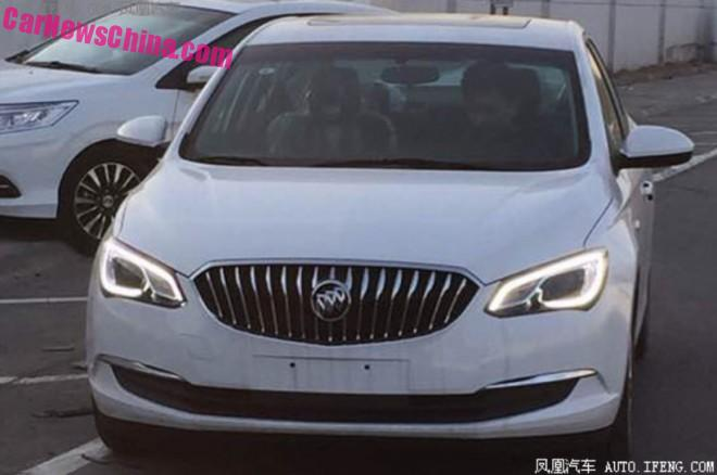 Spy Shots: the new Buick Excelle GT is Almost Ready for the Chinese car market