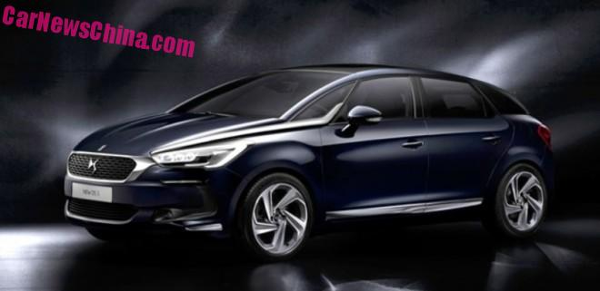 Officially Official: the facelifted Citroen DS5 for China