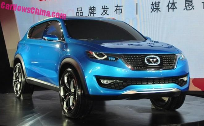 Cowin Auto i-CX SUV will launch in China in 2016