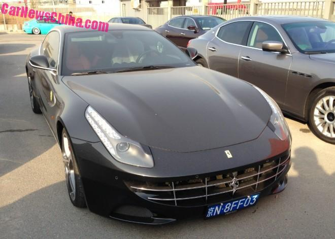 Ferrari FF has a License in China