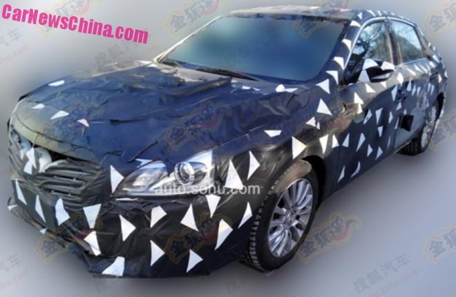 Spy Shots: Guangzhou Auto Trumpchi GA8 sedan testing in China
