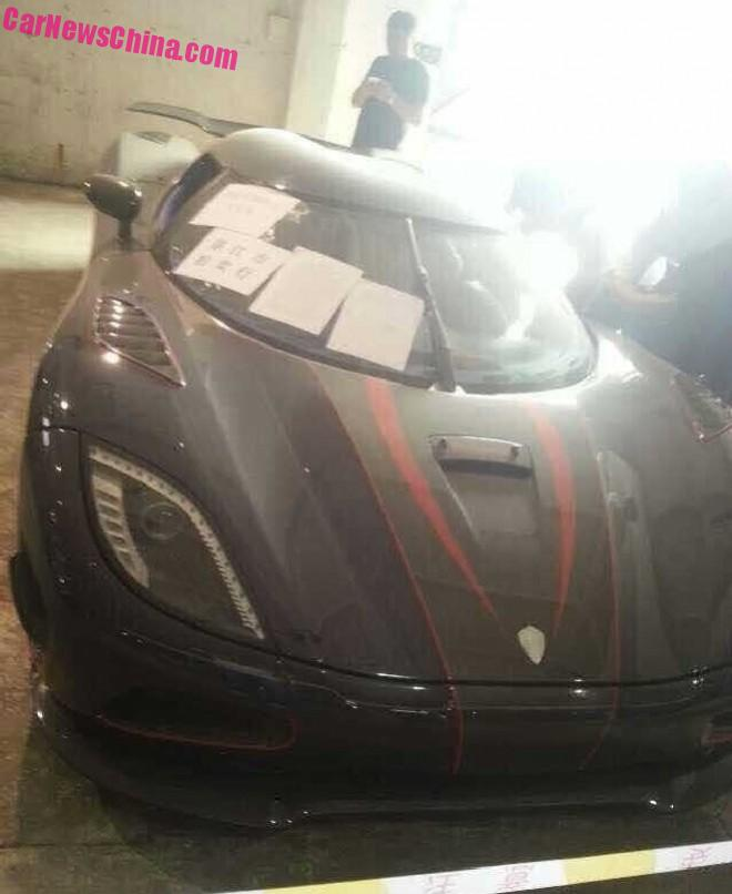 Exclusive: the impounded Koenigsegg Agera R BLT still gathers DUST in China