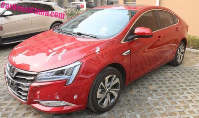 Spy Shots: facelifted Luxgen S5 sedan is Ready for the Chinese auto market