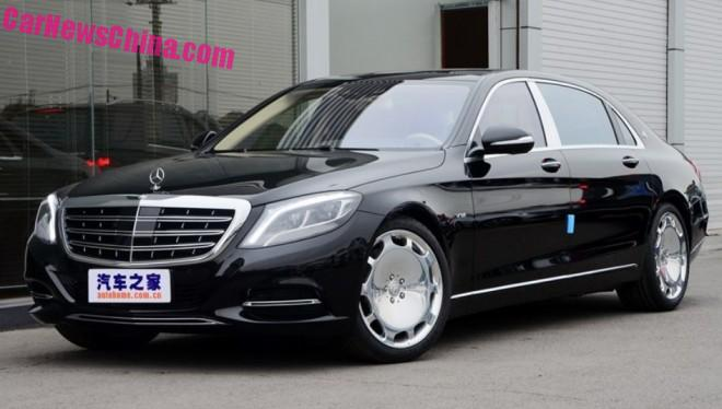 Mercedes-Maybach S400 & S600 launched on the Chinese car market