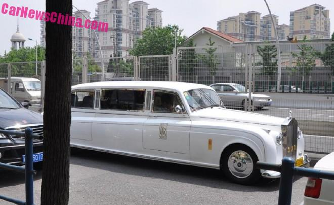 Spotted in China: the Soar Automobile Rolls-Royce Phantom in White