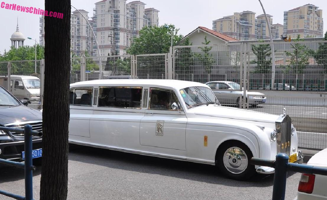 Spotted In China The Soar Automobile Rolls Royce Phantom White