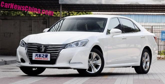 New Toyota Crown is Ready for the Chinese car market