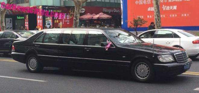 Spotted in China: W140 Mercedes-Benz S600 Pullman Limousine