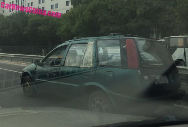 Spotted in China: the Zhonghua Car