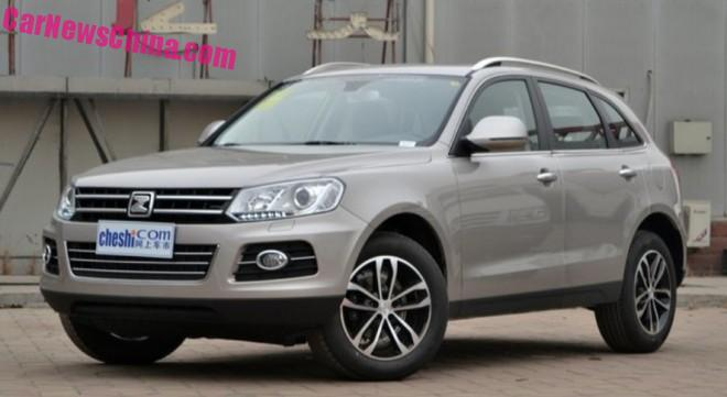 Zotye T600 2.0T launched on the Chinese car market