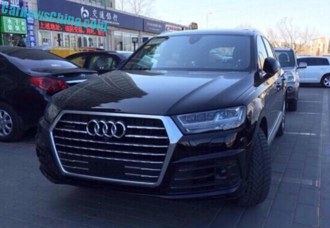 The 2016 Audi Q7 SUV has Arrived in China
