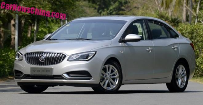 New Buick Excelle GT launched on the Chinese car market